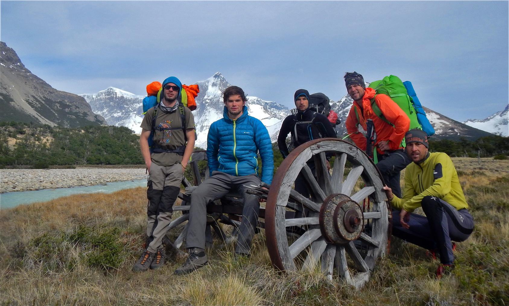 Cerro_San_Lorenzo_clani_odprave