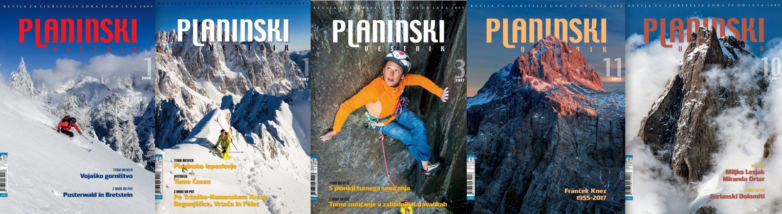 planinski_vestnik_naslovnice