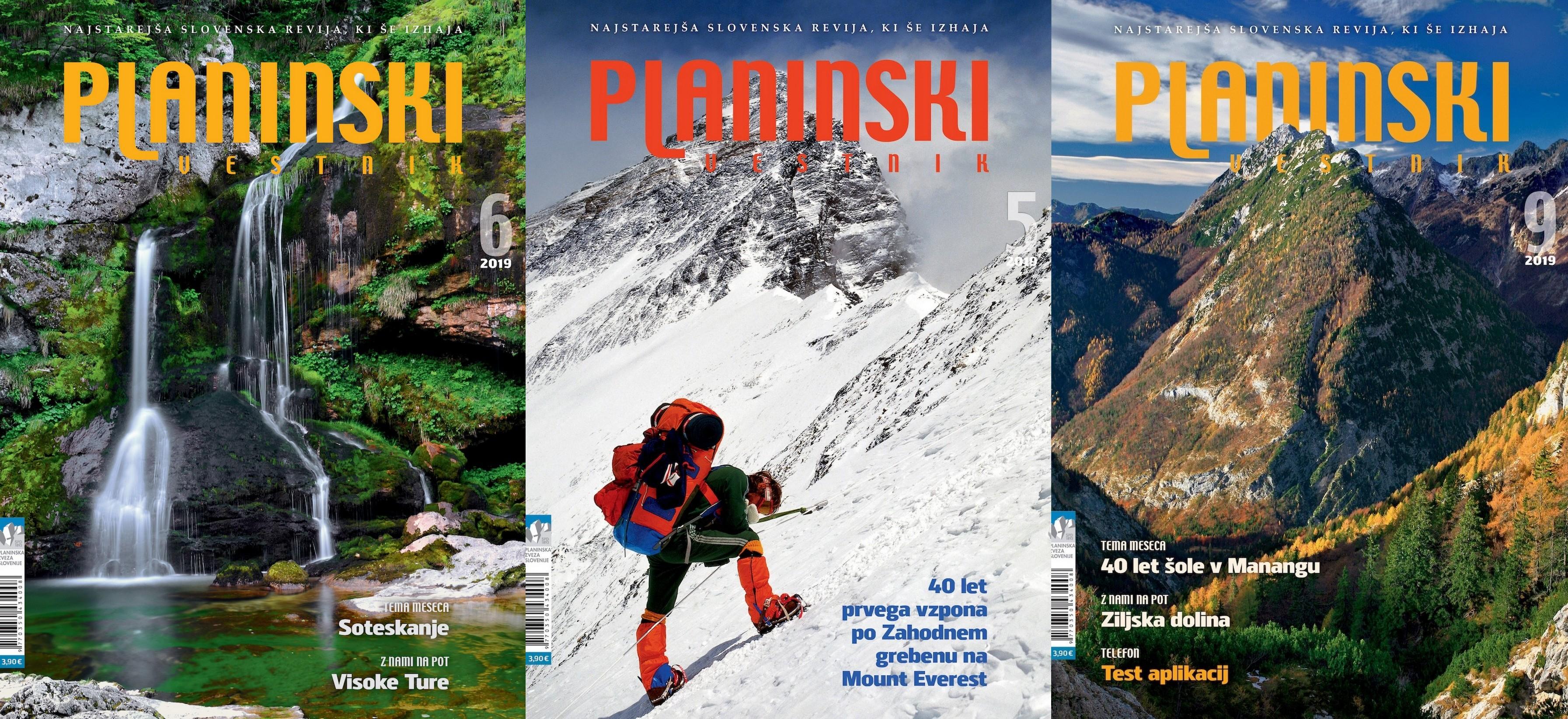 Planinski vestnik 2019