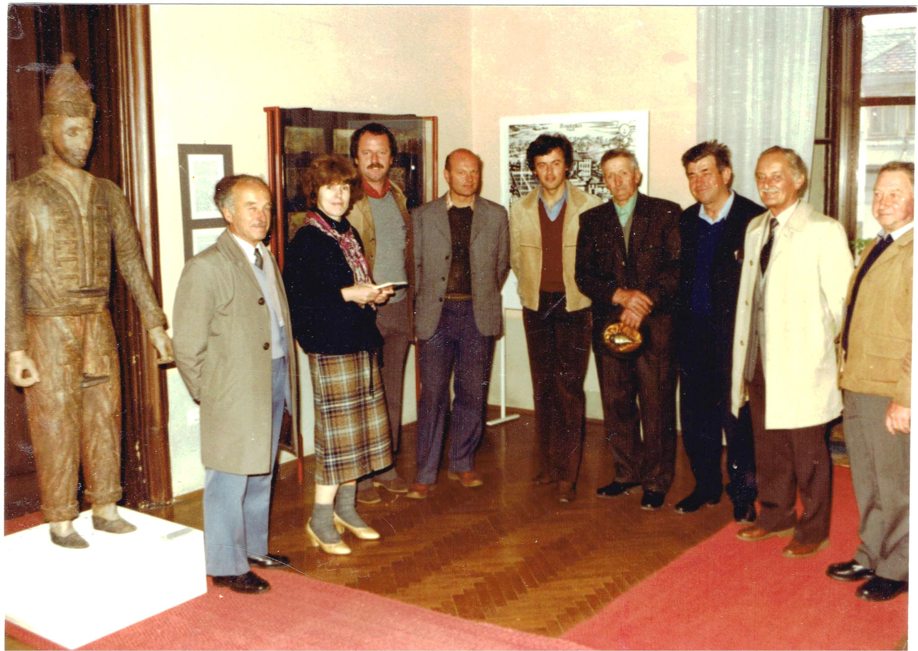 Muzejski_odbor_PD_Dovje_Mojstrana_v_letu_1982