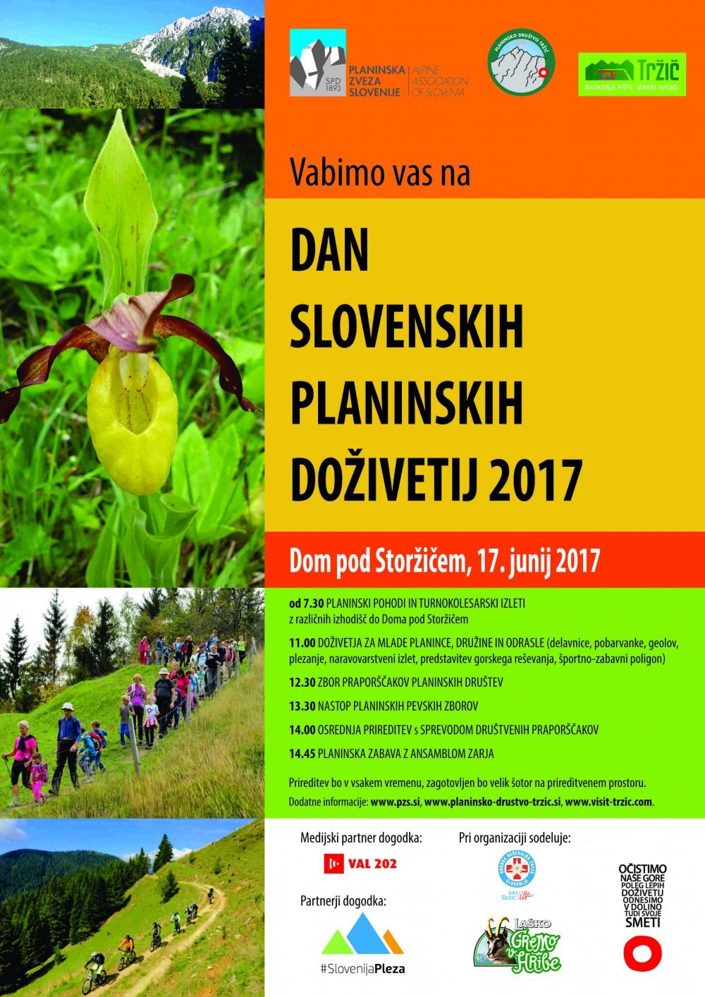 Dan slovenskih planinskih doživetij 2017