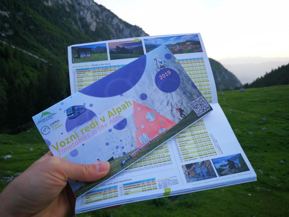 Vozni redi v Alpah 2019