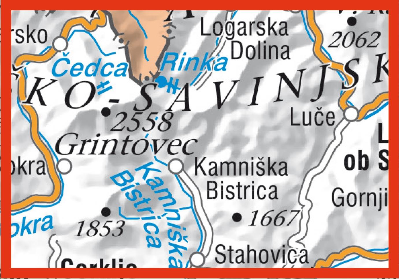 Grintovci_obmocje_karte